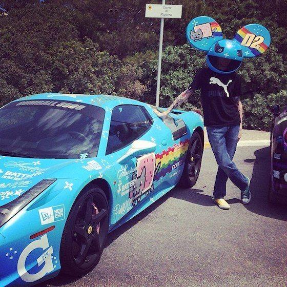 "<img src=""deadmau5-ferrari.jpg"" alt=""The musician Deadmau5 poses in front of the modified Ferrari he once owned"">"
