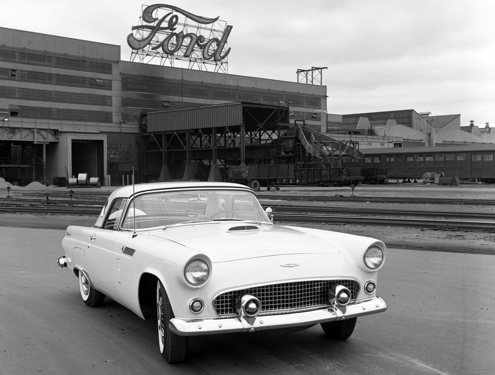 Stolen 1956 Ford Thunderbird Recovered