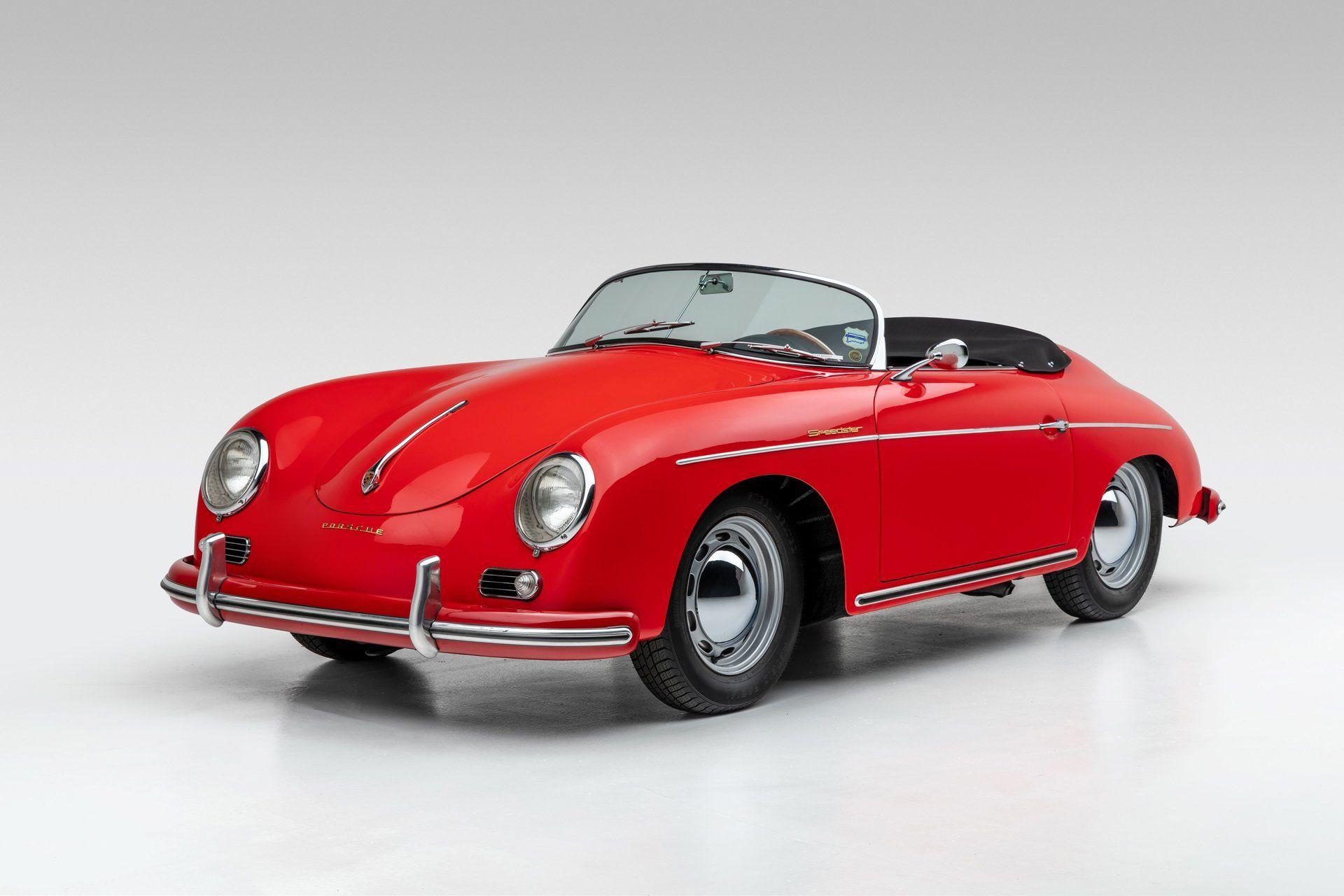 Make Then Envious With This 1956 Porsche 356A Speedster