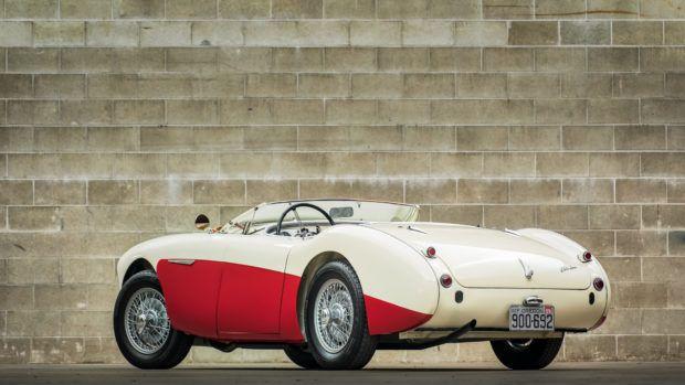Bid On This 1956 Austin-Healey 100M BN2 Roadster