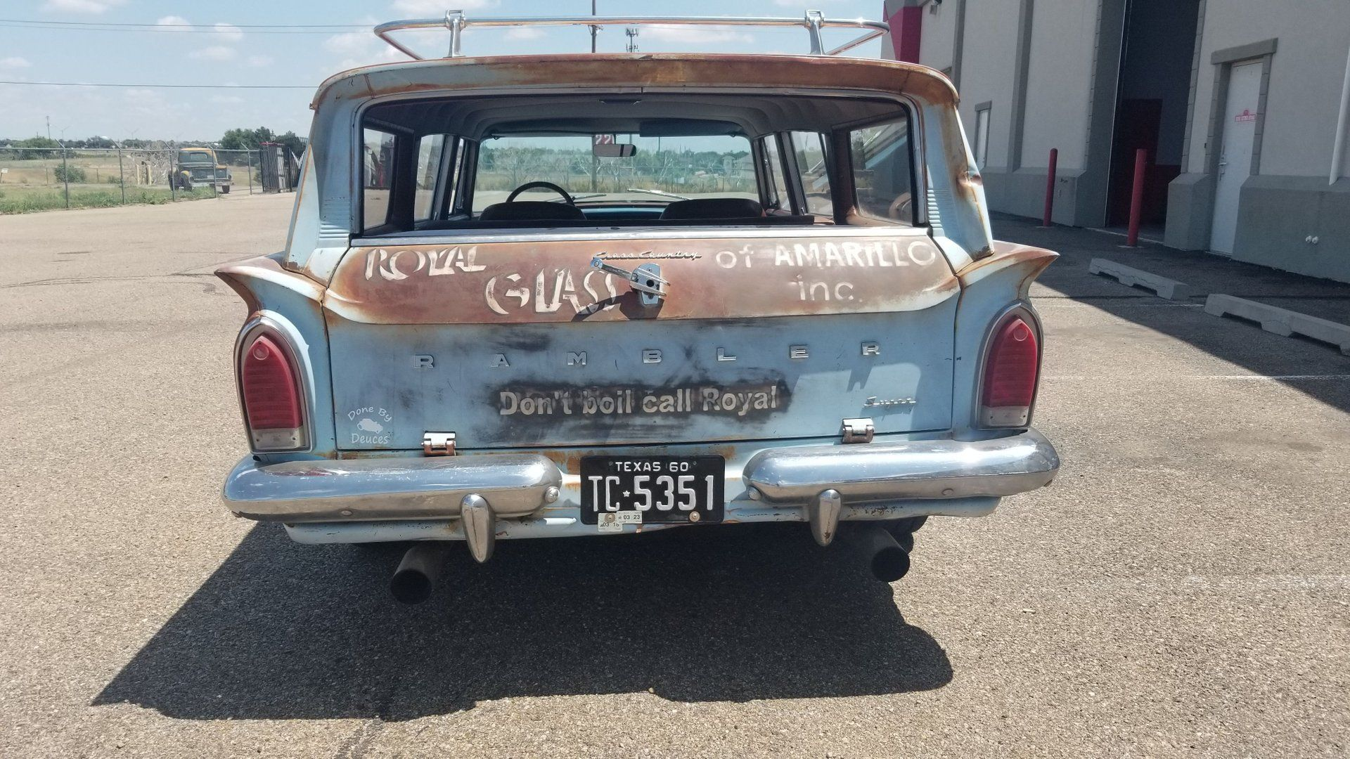Save History In A 1960 AMC Rambler Cross Country