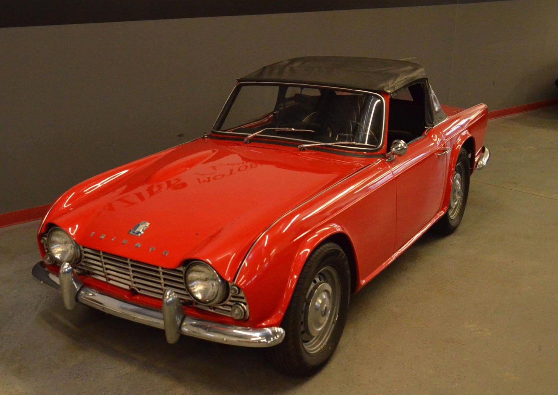 "<img src=""1970-triumph-tr4.jpg"" alt=""The front three quarters of a 1970 Triumph TR4"">"