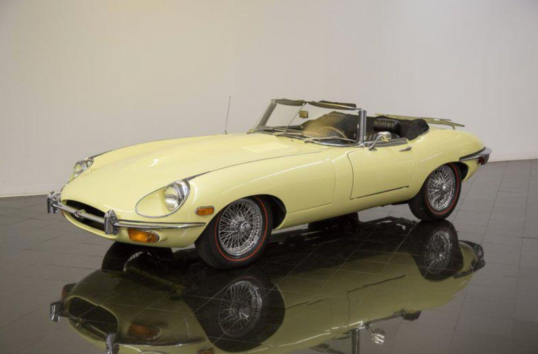 "<img src=""1962-jaguar-etype.jpg"" alt=""A numbers-matching 1969 Jaguar E-Type Series II Convertible"">"