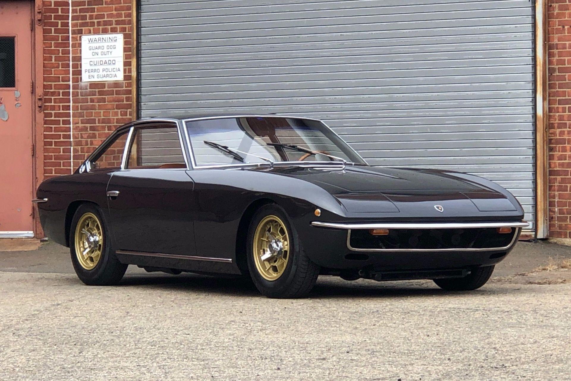 "<img src=""1969-lamborghini-islero.jpg"" alt=""This stunning 1969 Lamborghini Islero is up for bids through Bring A Trailer"">"
