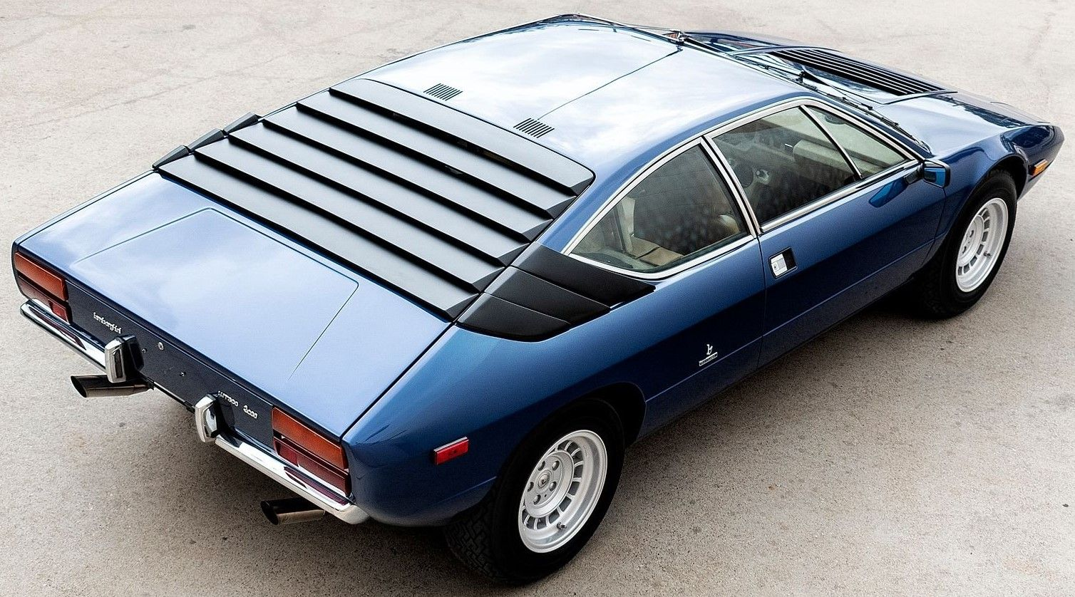 Behold This Rare 1975 Lamborghini Urraco P300