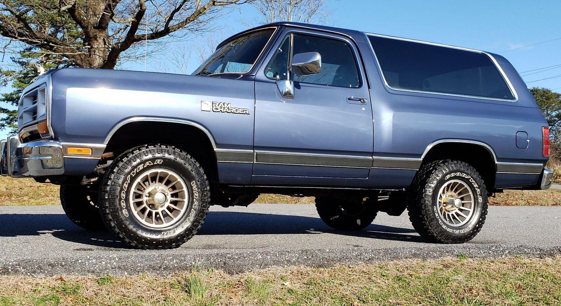 Grab A 1988 Dodge Ramcharger For Under 15k