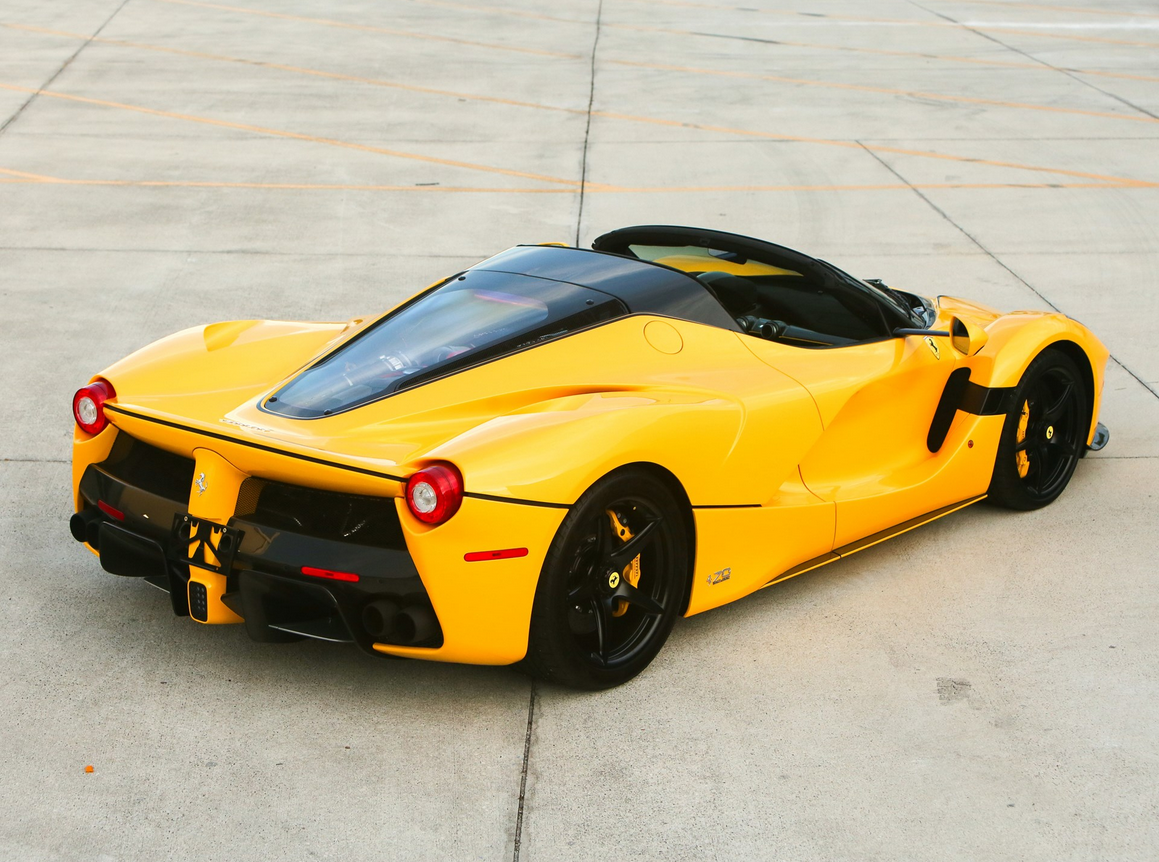 Bid On A 2017 Ferrari LaFerrari Aperta