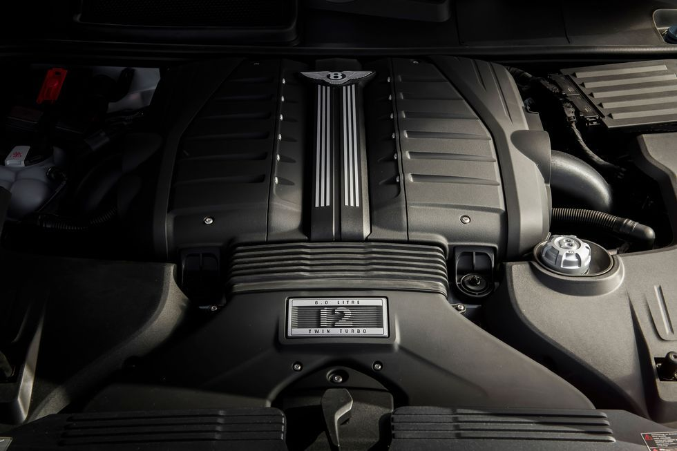 "<img src=""engine-vw.jpg""The Volkswagen V12 that powers the Bentley Continental, Flying Spur and Bentayga"">"