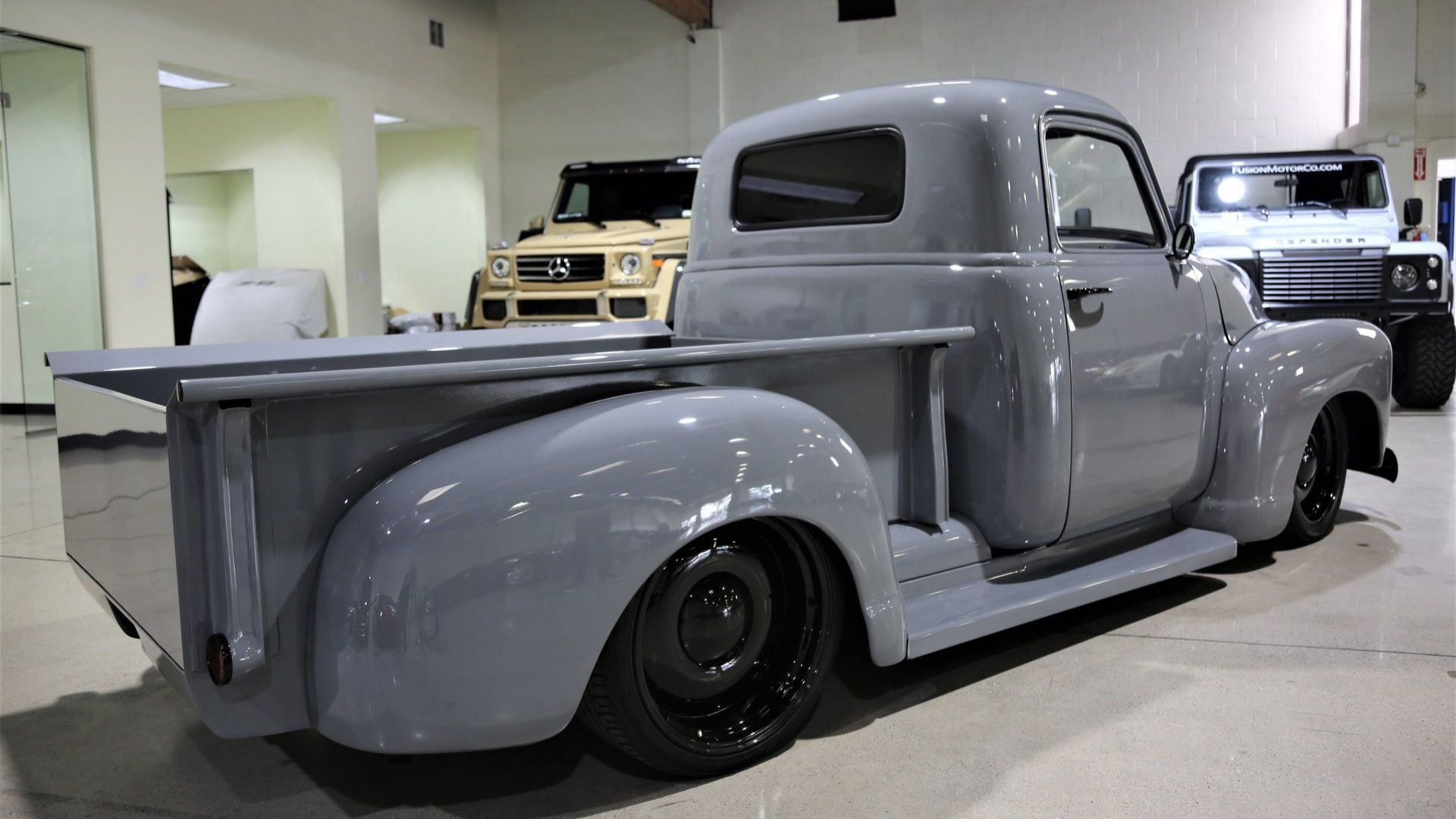 Be Restomod Cool With This 1949 Chevy 3100 Pickup