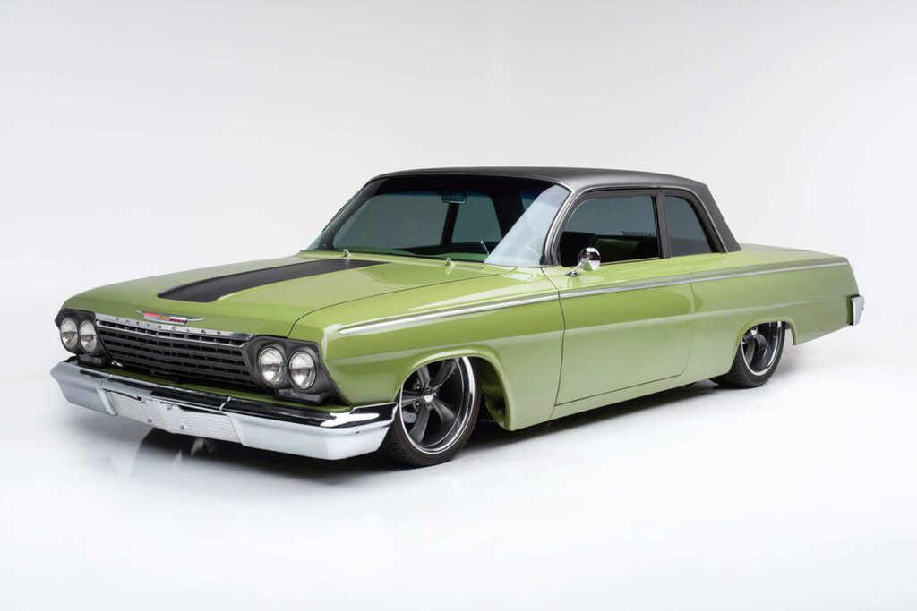 "<img src=""1962-chevy-biscayne.jpg"" alt=""A stunning 1962 Chevrolet Biscayne restomod up for grabs"">"