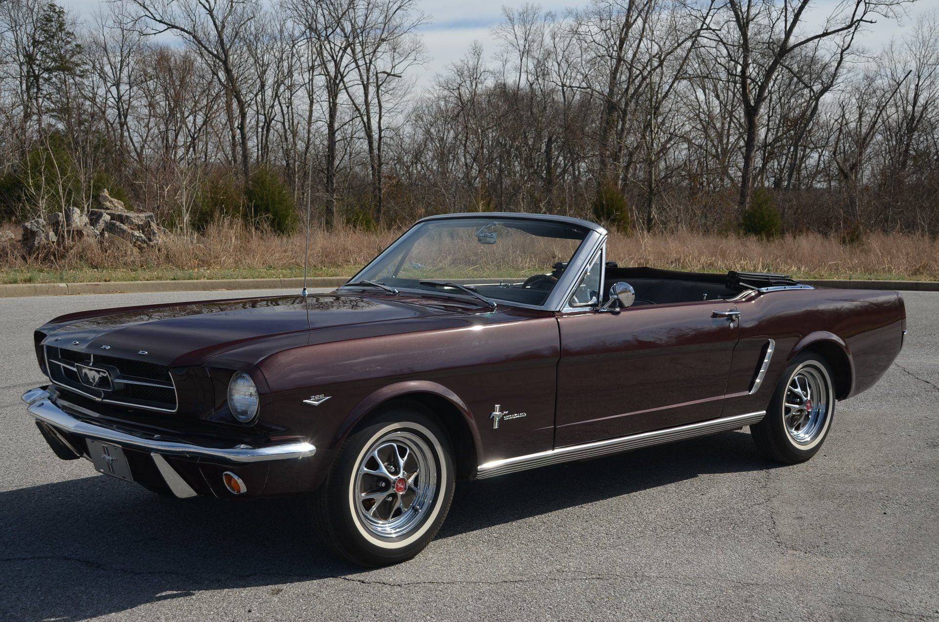 Cruise Through Town In This Lovely 1965 Ford Mustang Convertible