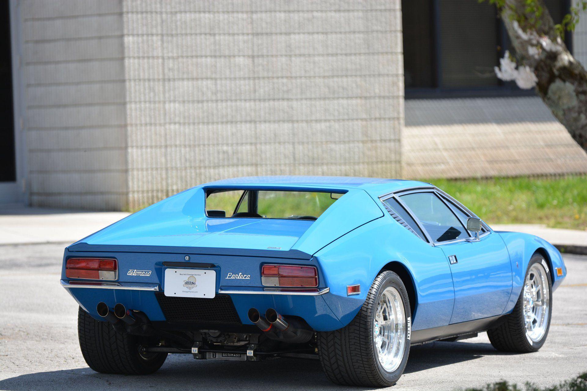Scoop This Low-Mileage 1972 De Tomaso Pantera