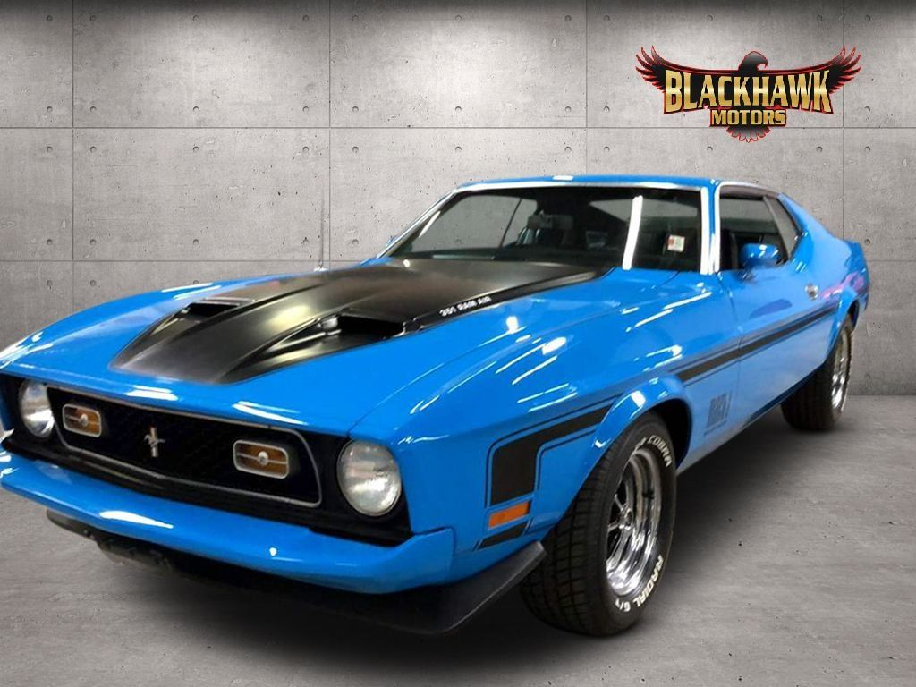 """<img src=""""1973-ford-mustang-mach-1.jpeg"""" alt=""""A 1973 Ford Mustang Mach 1 tribute car up for grabs"""">"""