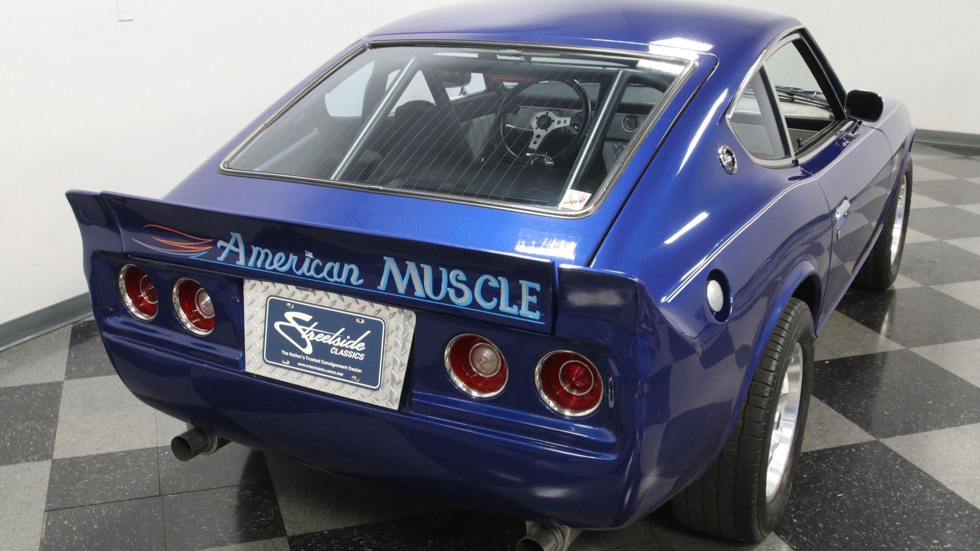 1977 Datsun 280Z Pro Street Leverages American Power