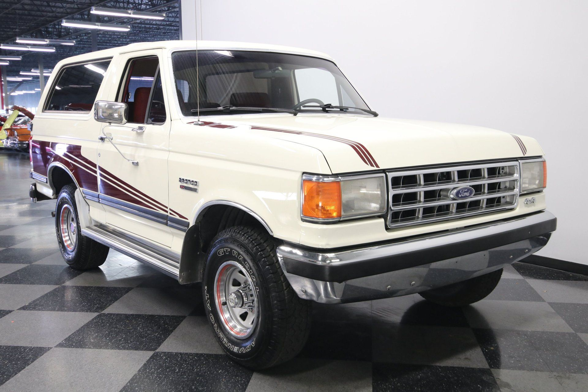 1988 Ford Bronco XLT Has Under 100K Miles