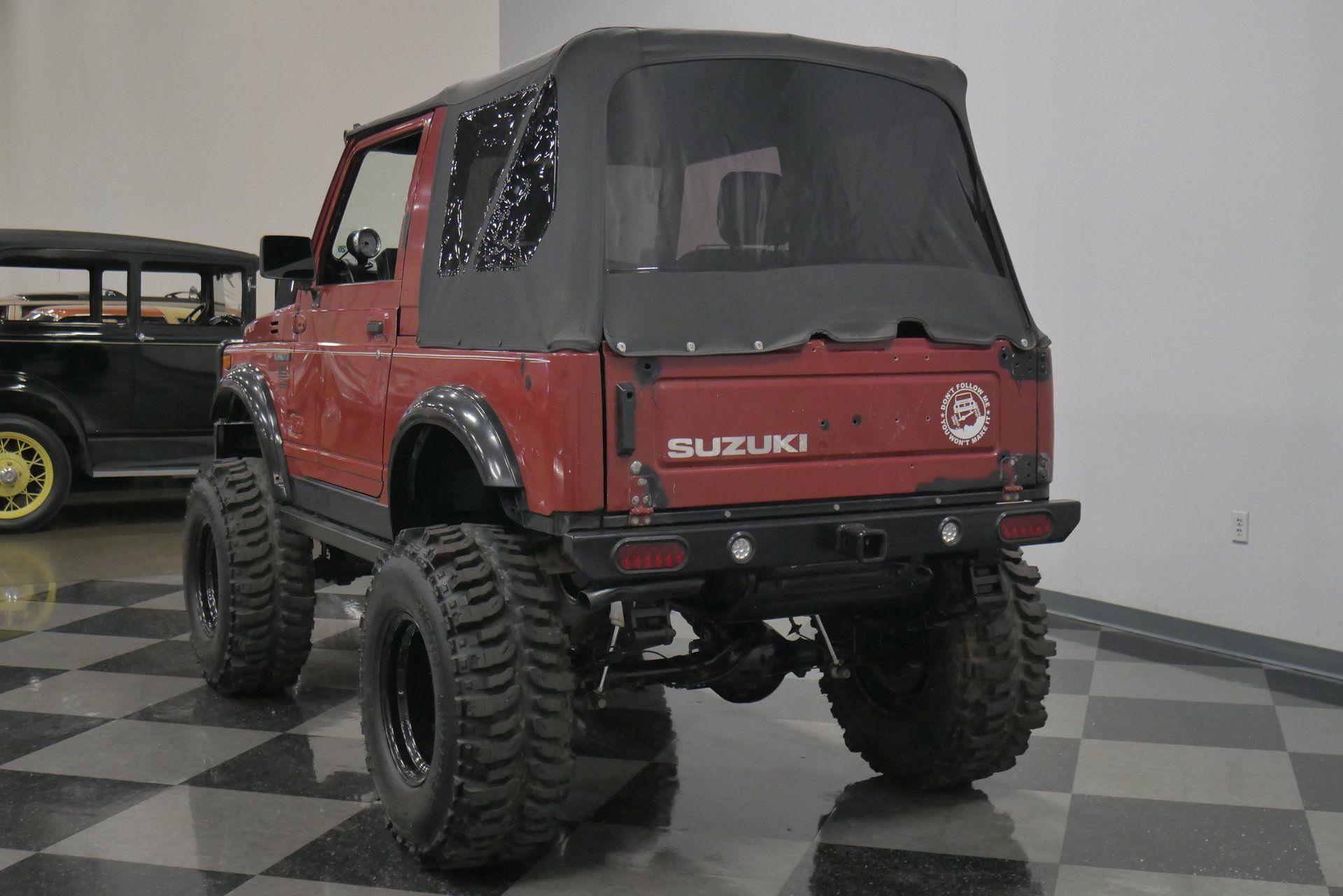 Conquer Trails With This 1988 Suzuki Samurai