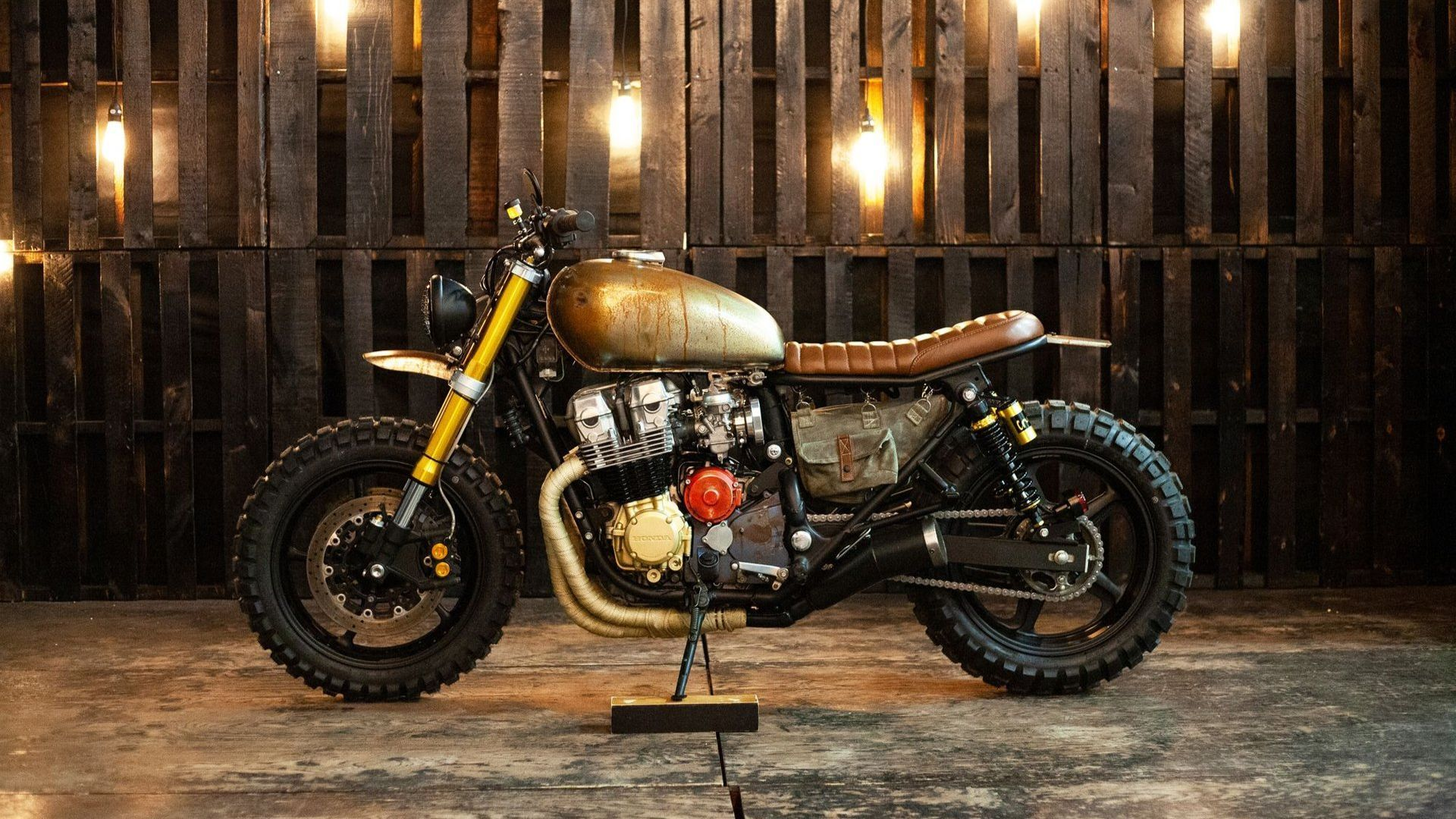 Motorcycle Monday: 1991 Honda Nighthawk Walking Dead Tribute