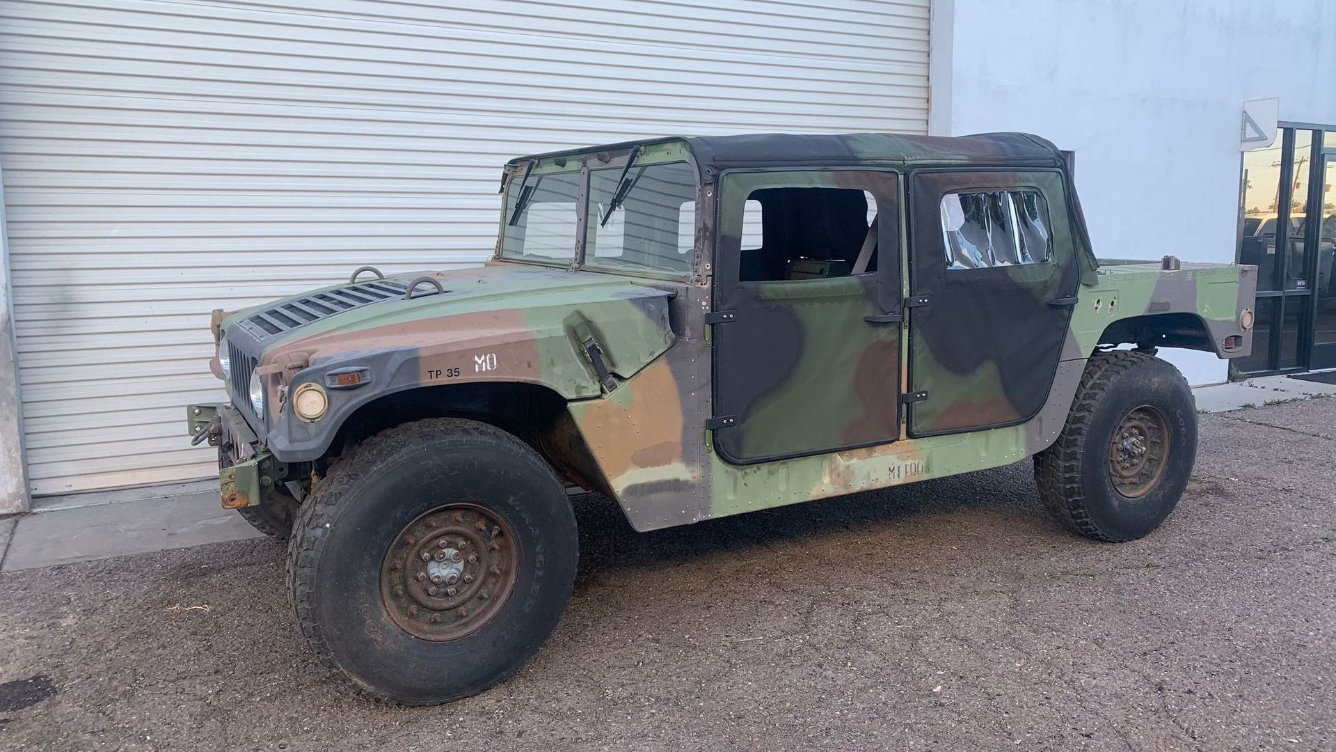 1993 AM General Humvee M998 Ready To Storm The Desert