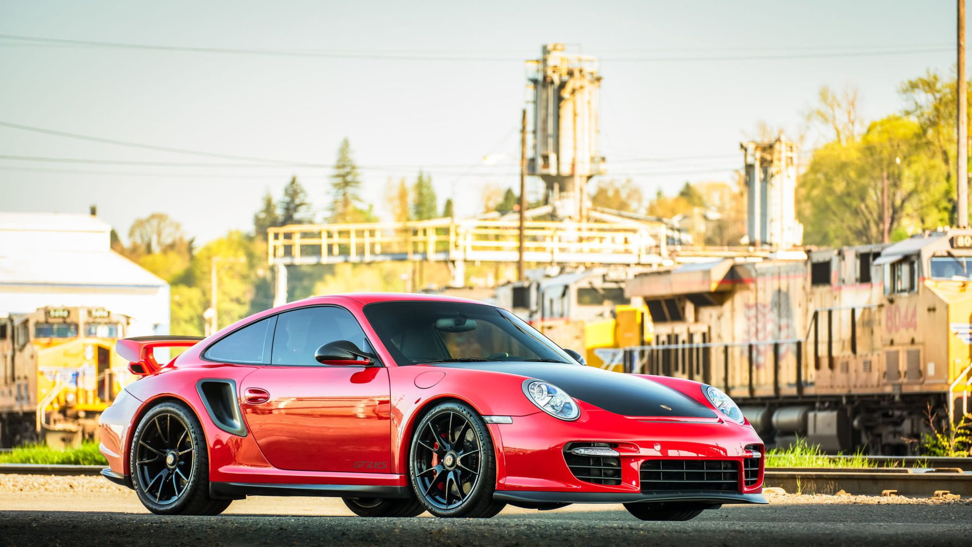 Rare Low Mile 2011 Porsche 911 Gt2 To Offer Open Throttle Therapy