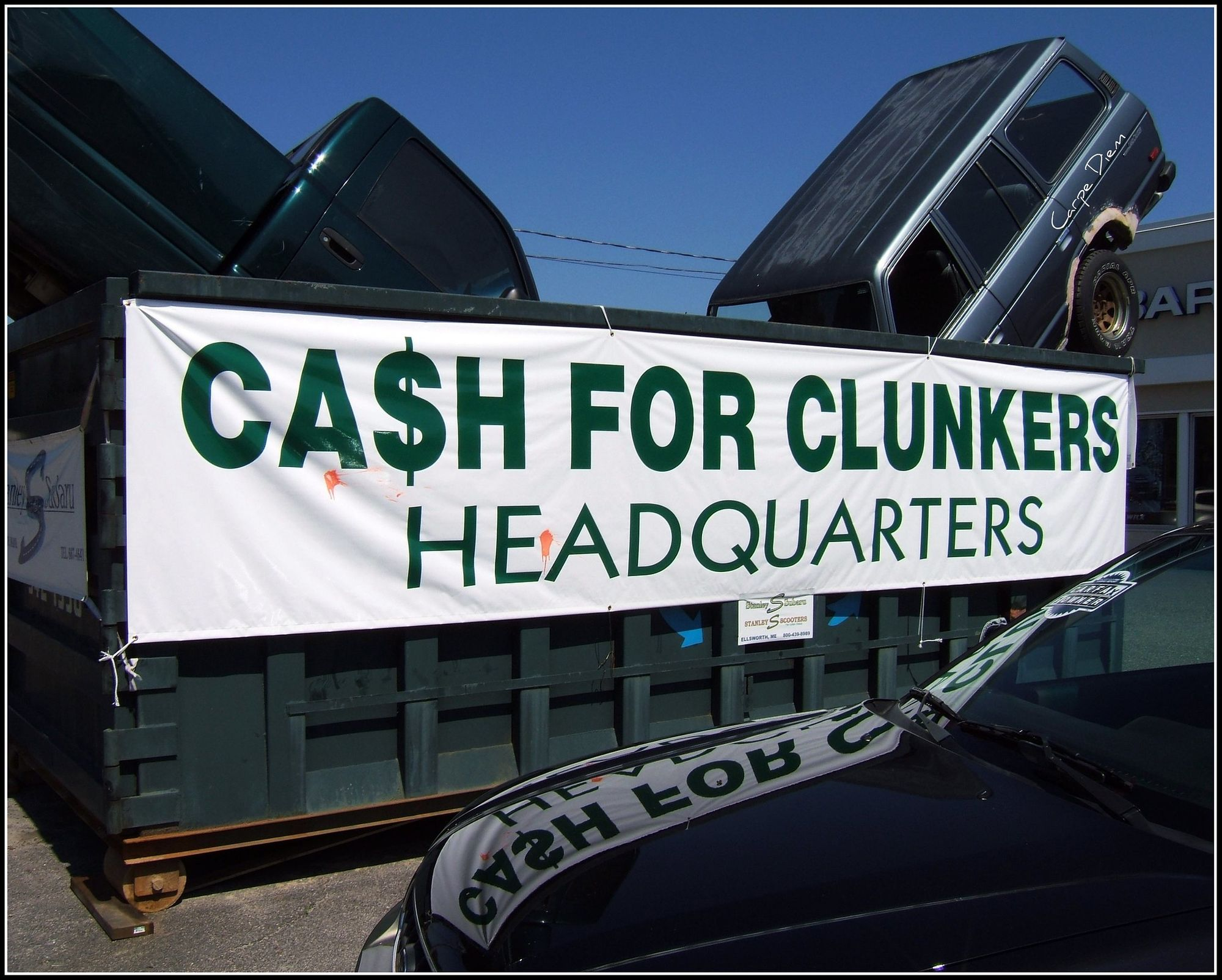 Revisiting Cash For Clunkers Spells Doom