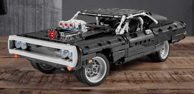 Lego Technic Dodge Charger Is The Adult Toy You Want