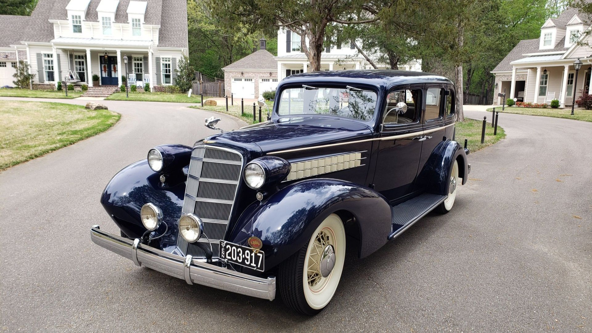 Gorgeous 1935 Cadillac 355E Could Be Yours