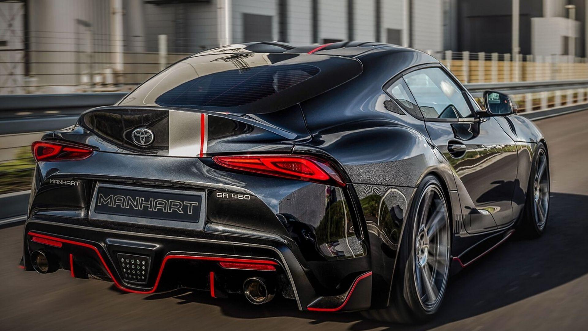 Manhart Dials Up Toyota Supra Performance