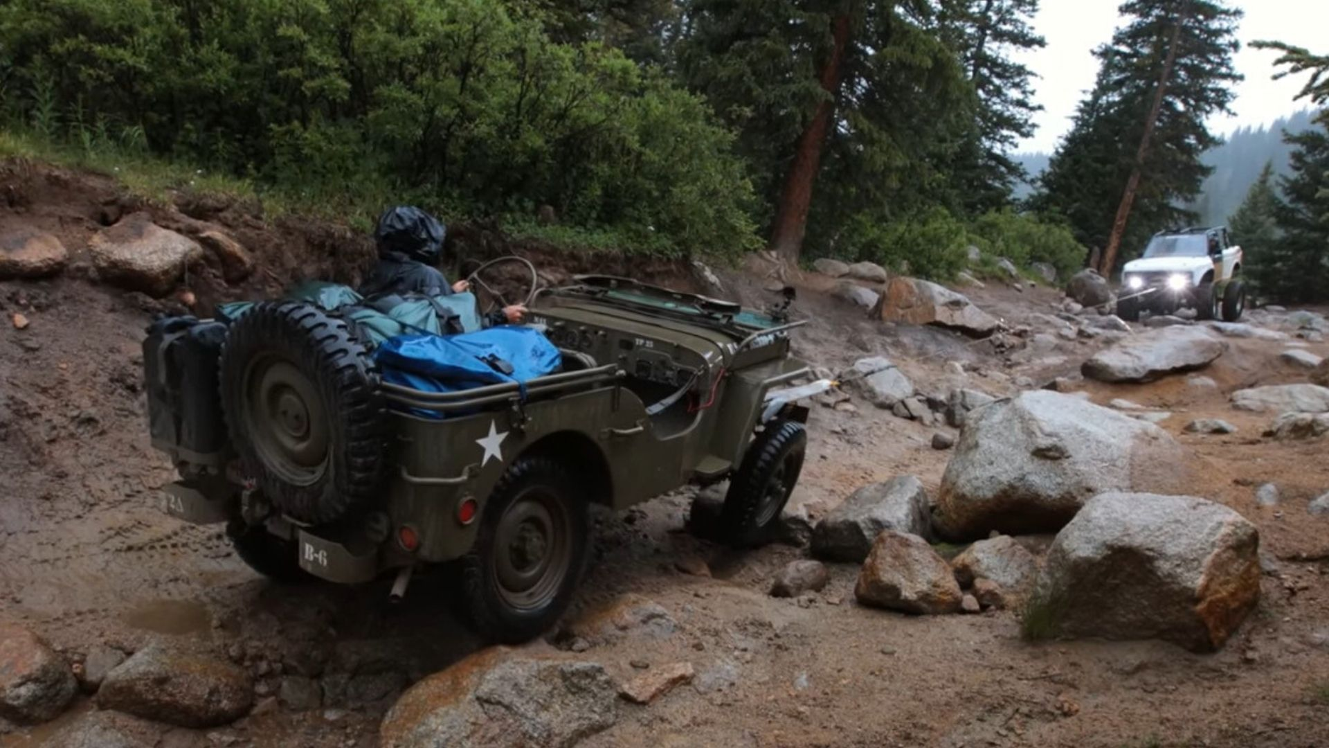 Watch A 1943 Willys MB Jeep Travel 550 Miles Off-Road