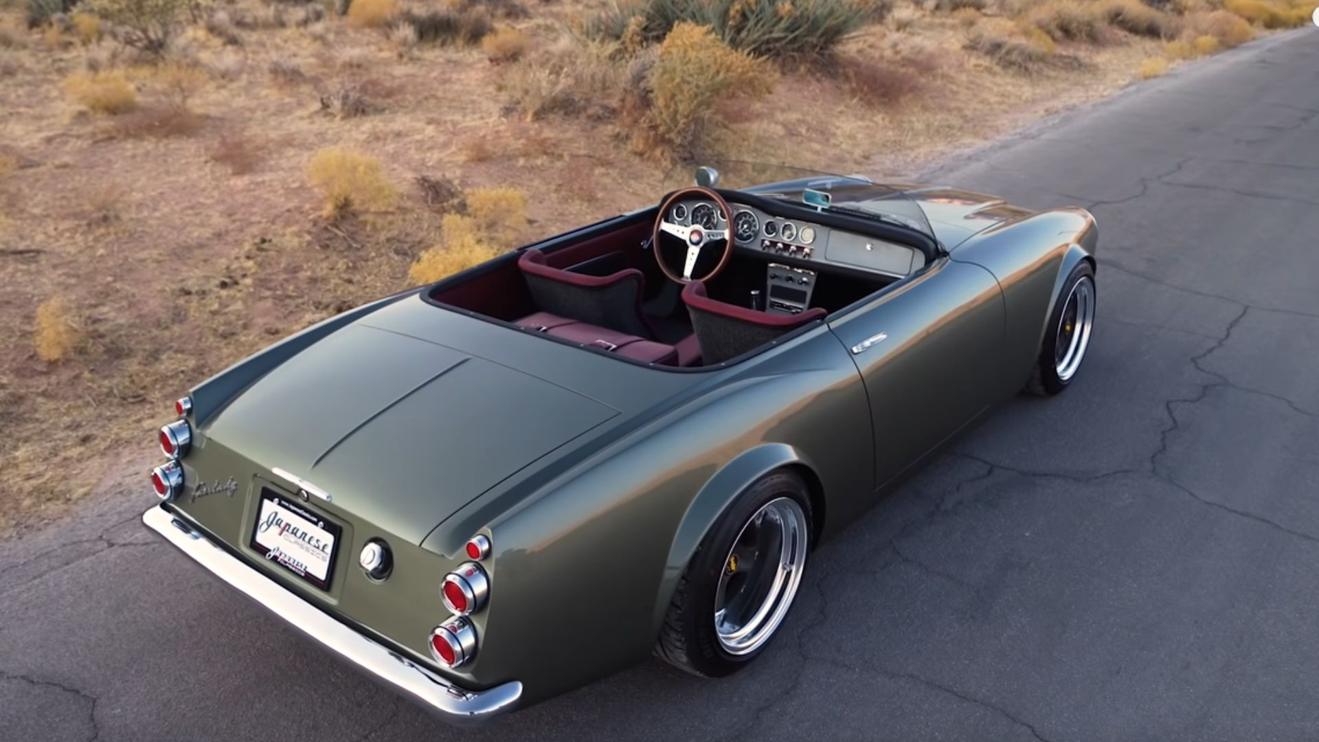 Chopped Datsun 1600 Roadster Rides On The Wild Side