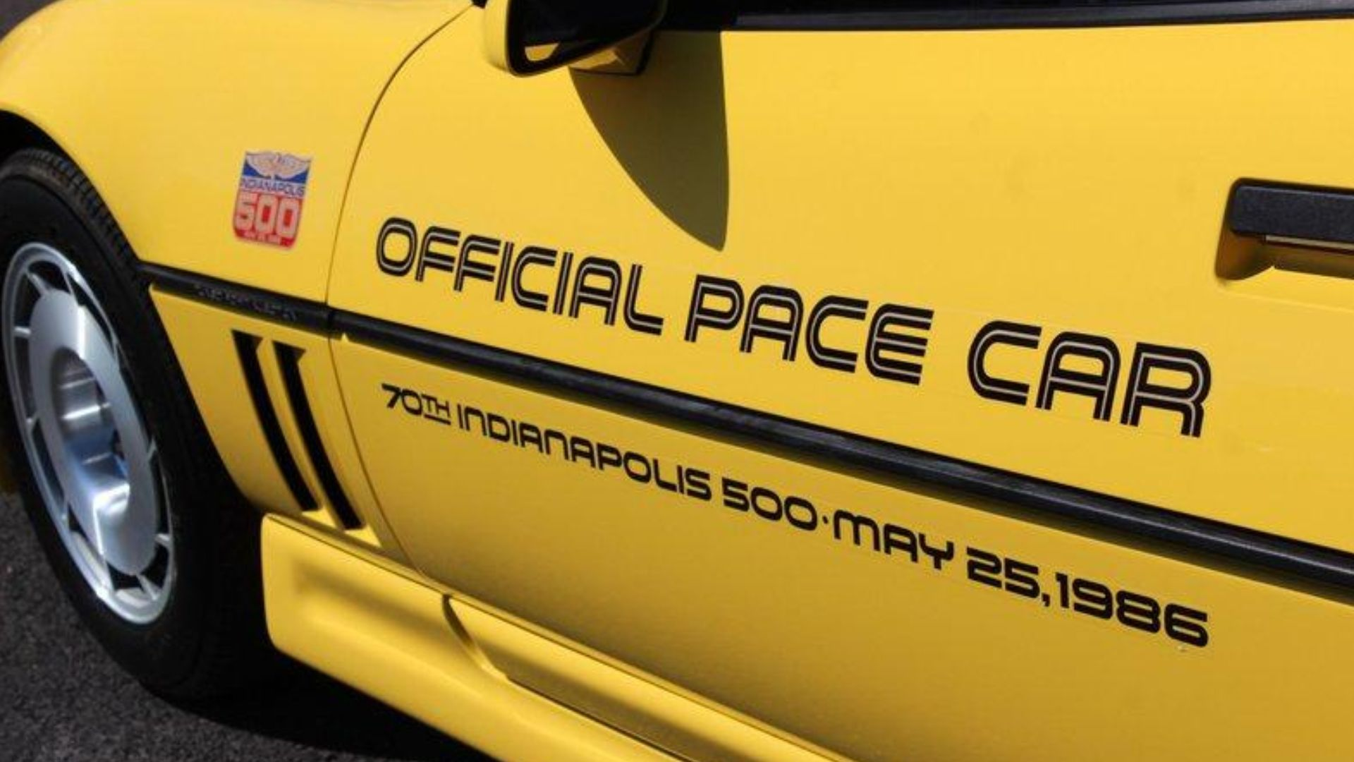 1986 Chevy Corvette Indianapolis 500 Pace Car Offers Drop-Top Fun