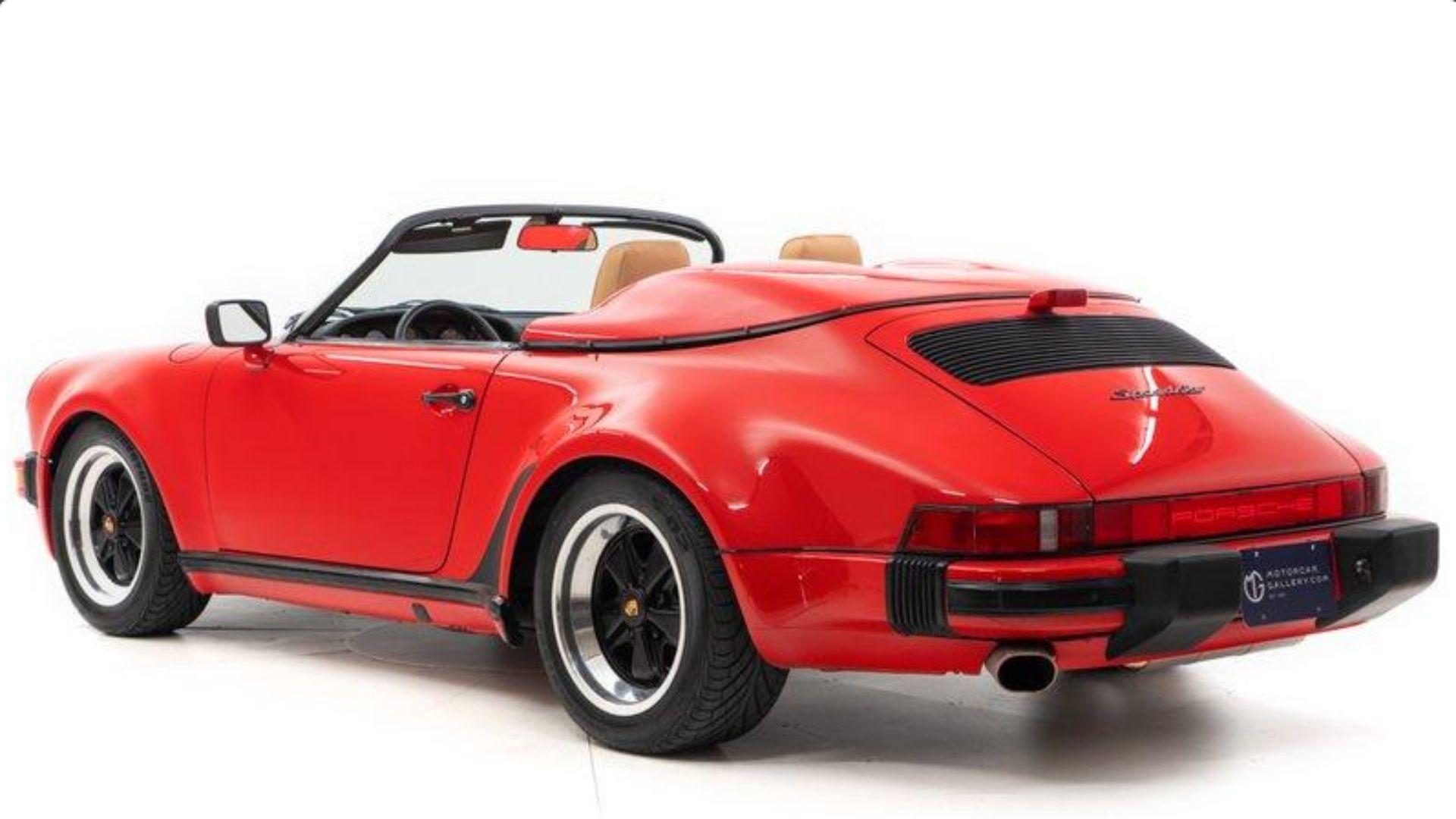 1989 Porsche 911 Speedster Crosses The Auction Block