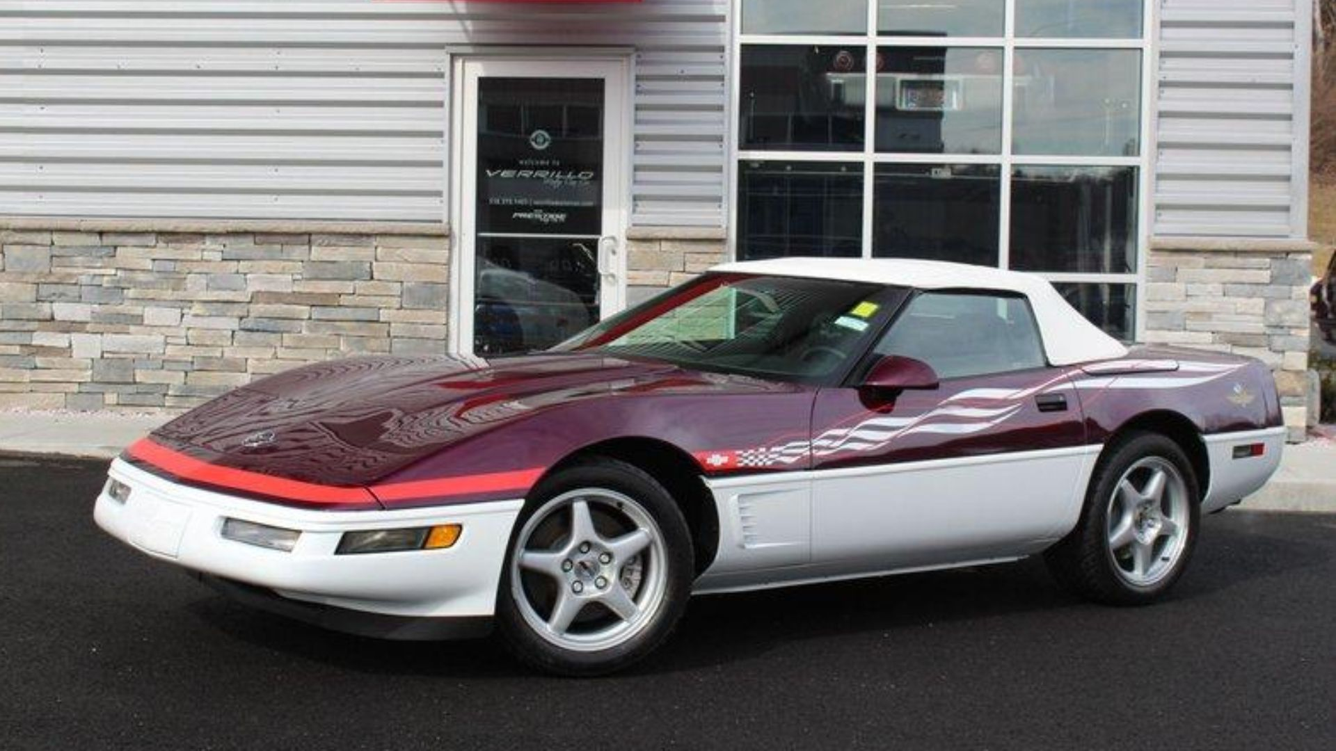 Drive Away In This 1995 Chevy Corvette Indianapolis 500 Pace Car
