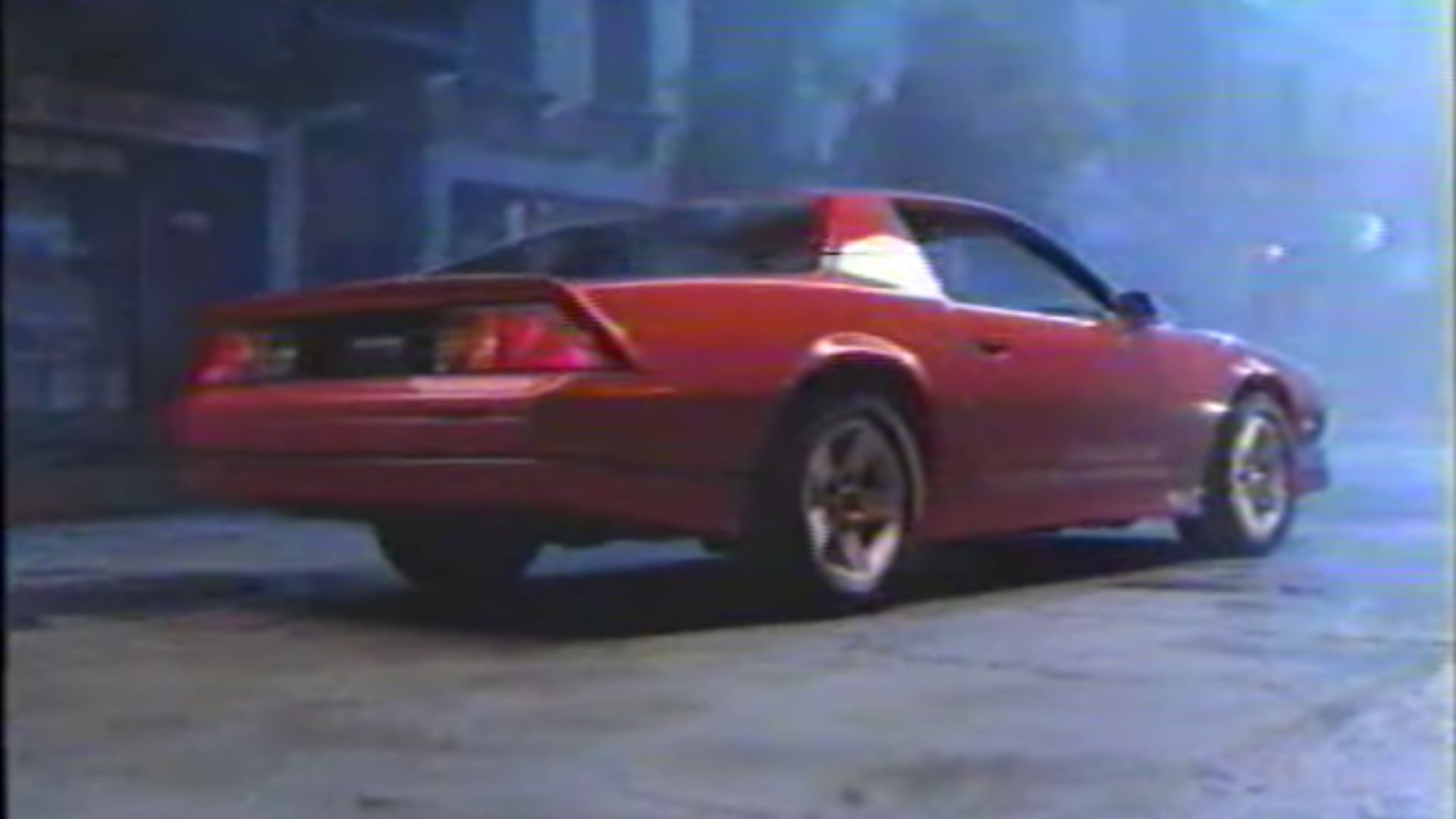 Watch This 1986 Chevy Camaro IROC-Z Commercial