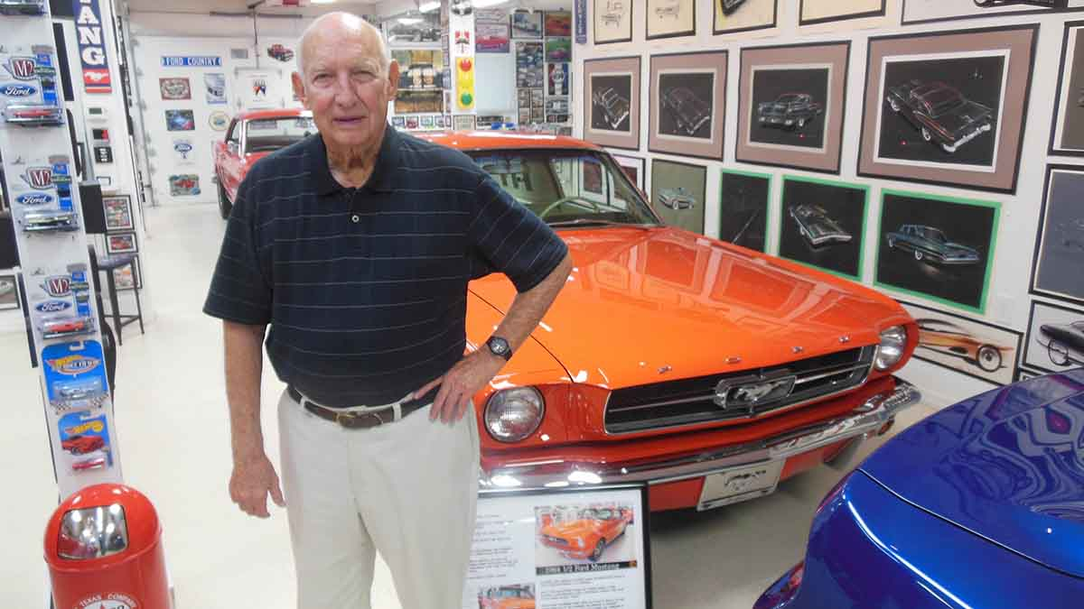"<img src=""gale-halderman.jpg"" alt=""Gale Halderman, designer of the original Ford Mustang, has passed away at age 87."">"