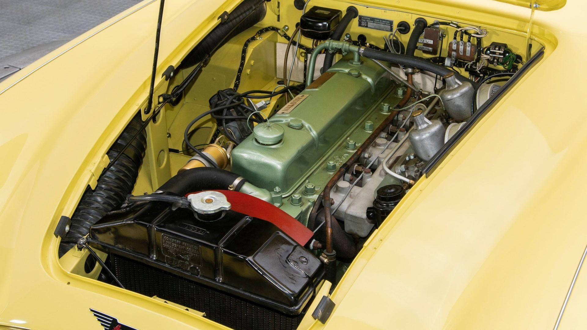 Rotisserie-Restored 1959 Austin-Healey 3000 Mark I BN7 Seeks Open Roads