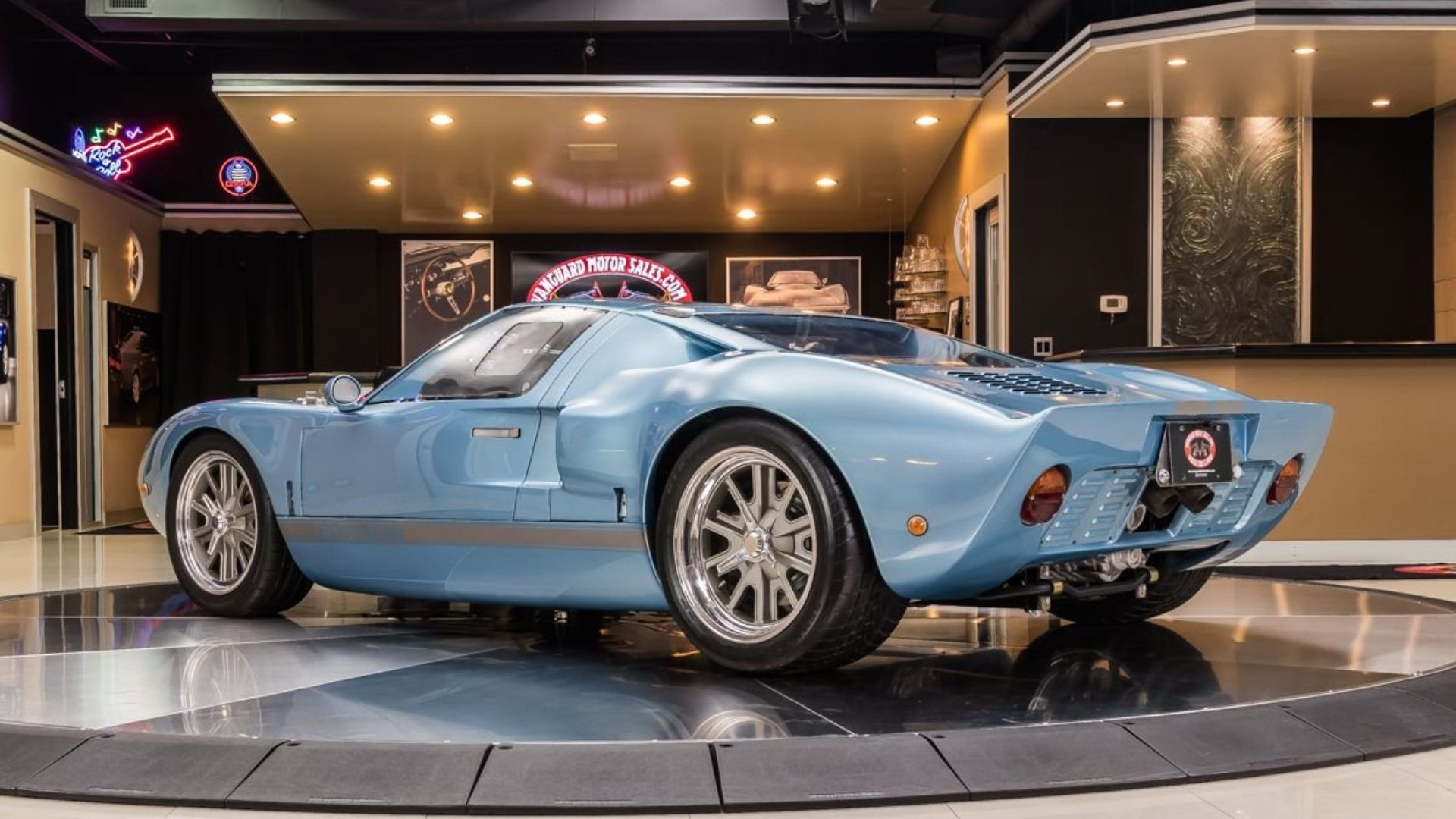 Gorgeous 1965 Ford GT40 By Active Power Cars Is Ready To Track Or Show