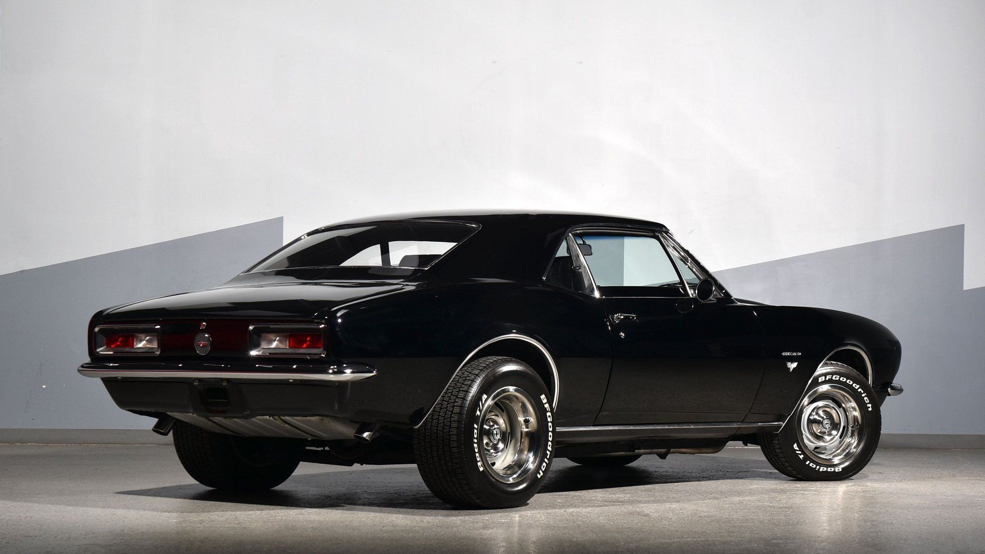 1967 Chevy Camaro Uses The Strength Of A 454