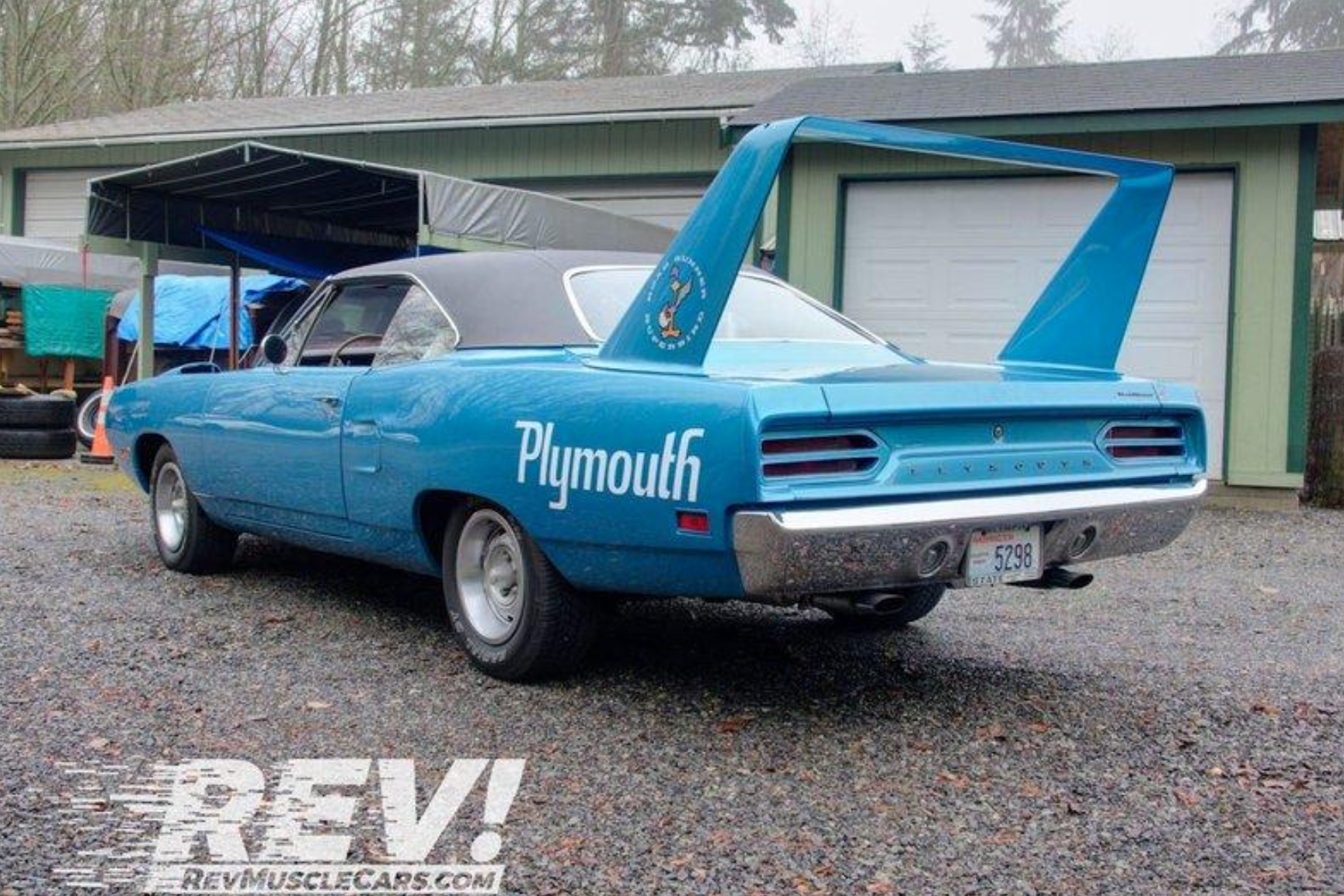two-owner, restored 1970 plymouth superbird ready to offer thrills  motorious