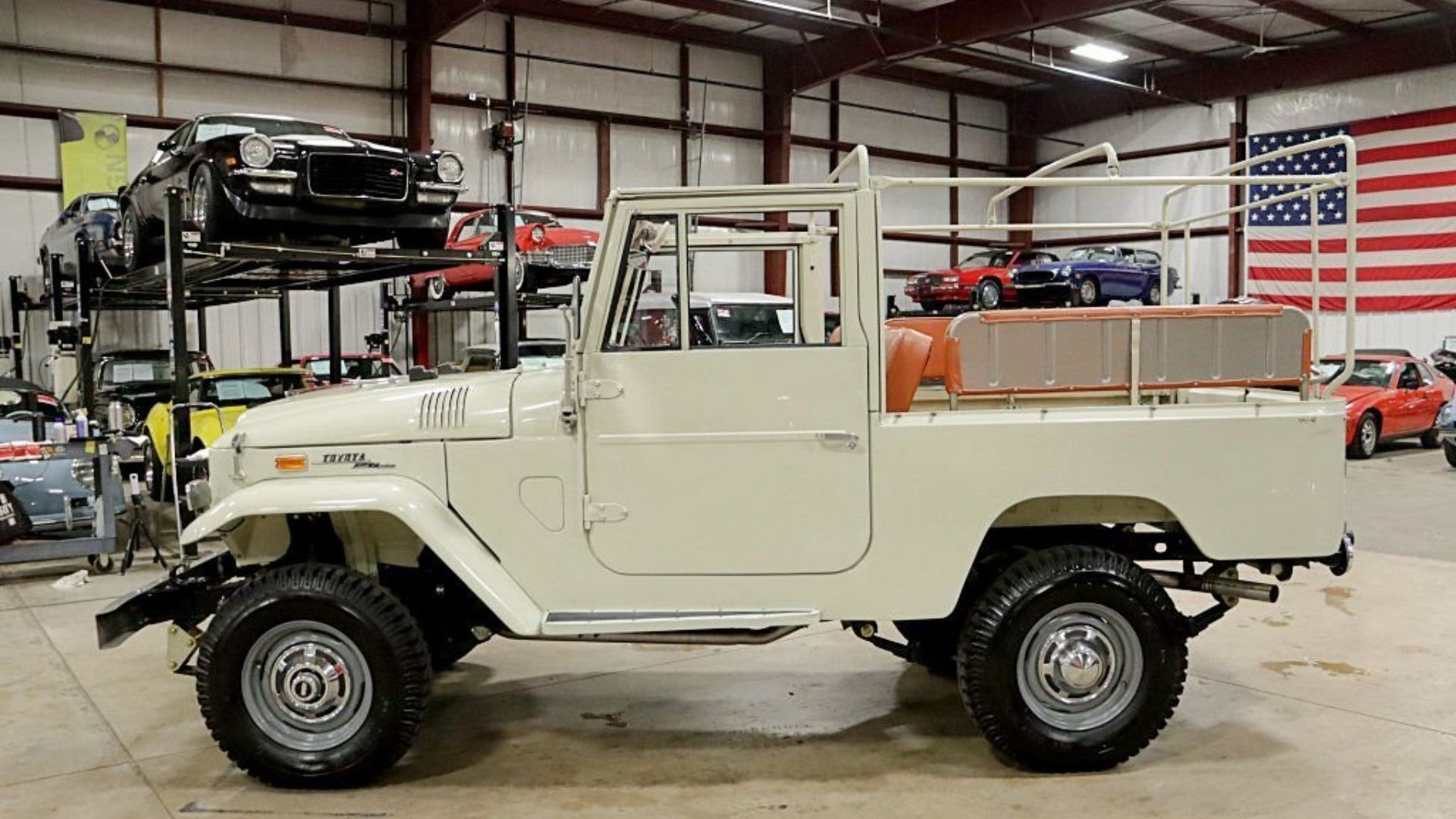 1970 Toyota FJ43 Is Ready To Plunge You Into Adventure