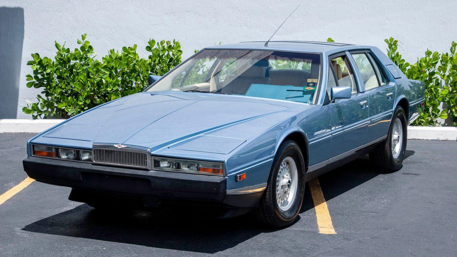 Have Four Door Fun In This 1985 Aston Martin Lagonda