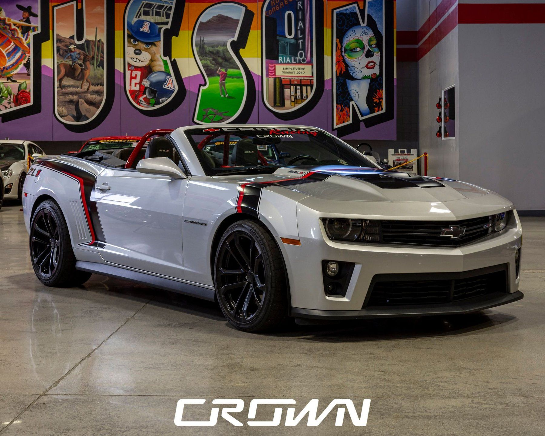 2013 Chevy Camaro Zl1 Is A Track Beast That Needed To Be Caged