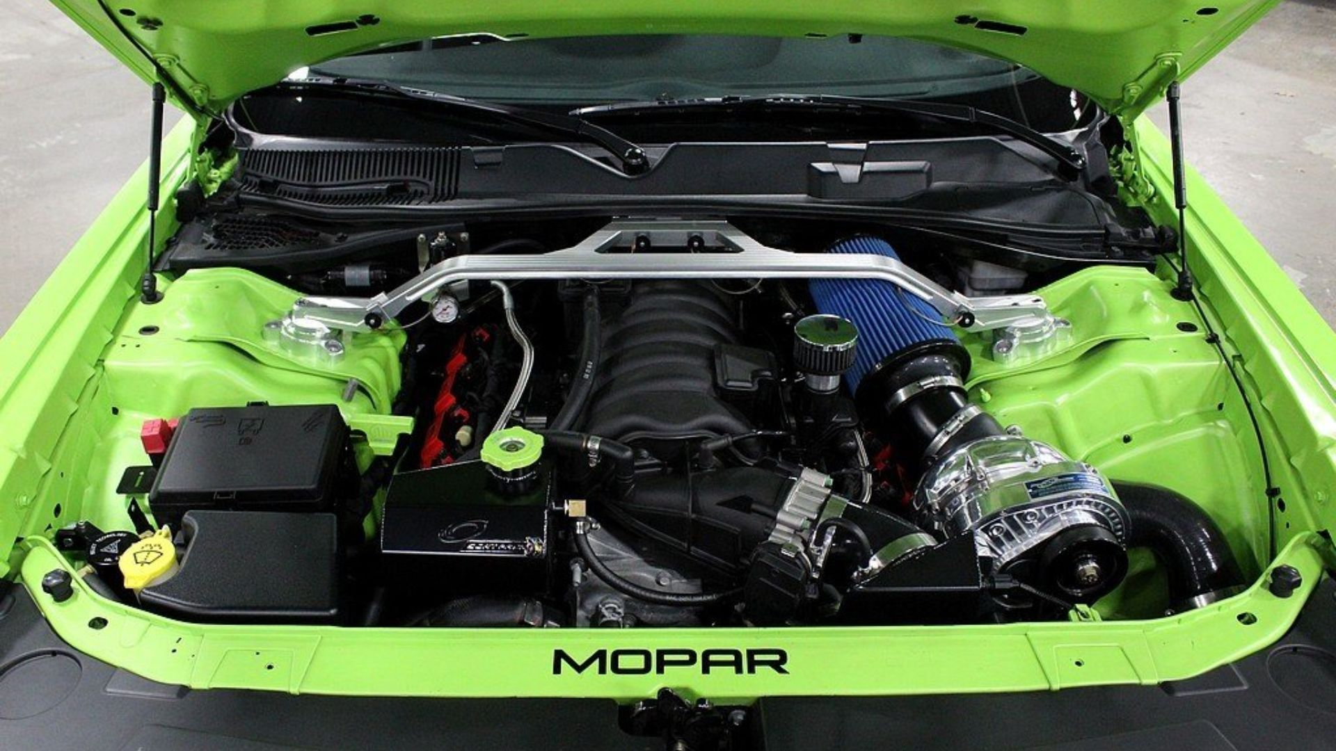 Modified 2015 Dodge Challenger R/T Scat Pack Eats Hellcats