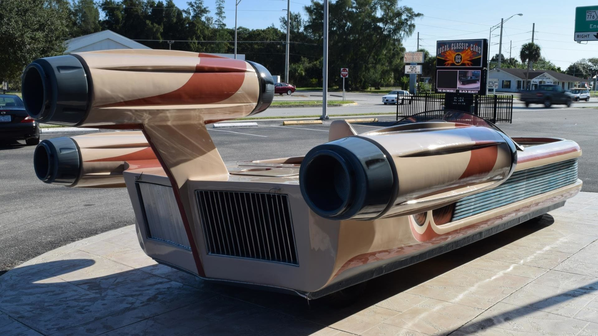 Celebrate May The 4th With A Star Wars X-34 Landspeeder