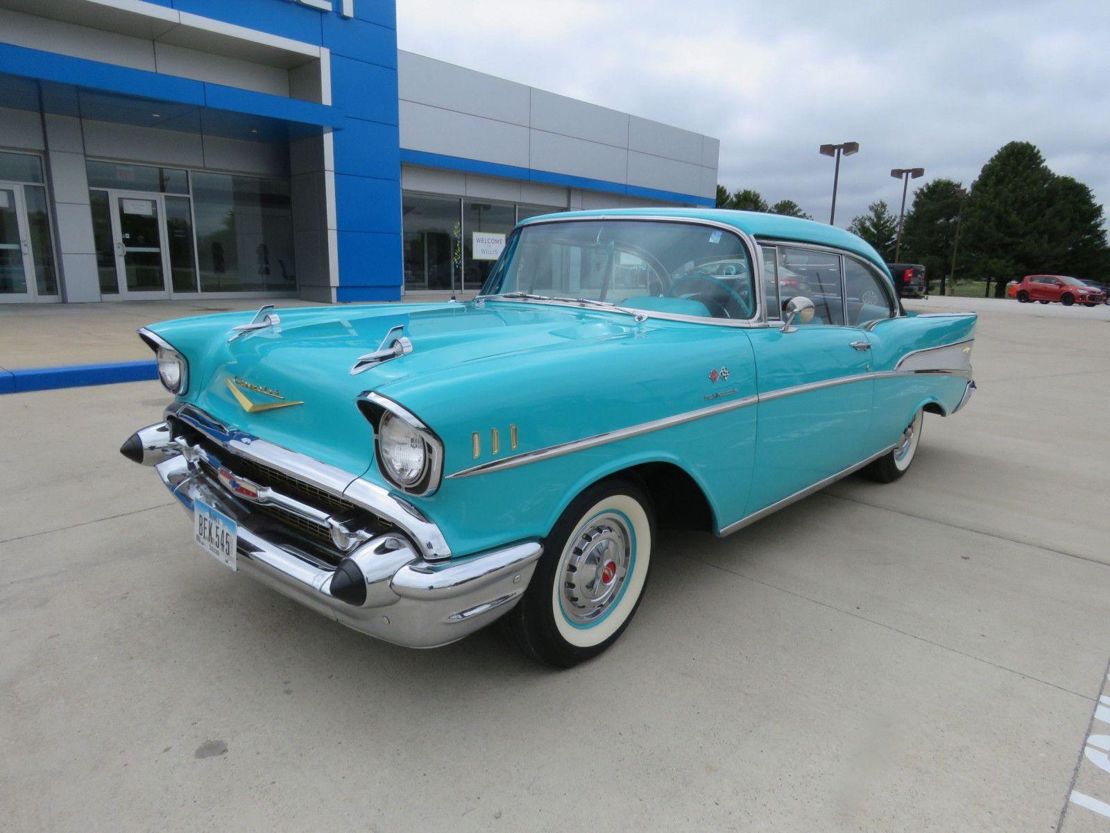 """<img src=""""don-19570-chevrolet-belair.jpg"""" alt=""""A rare 1957 Chevrolet Belair Convertible"""">"""
