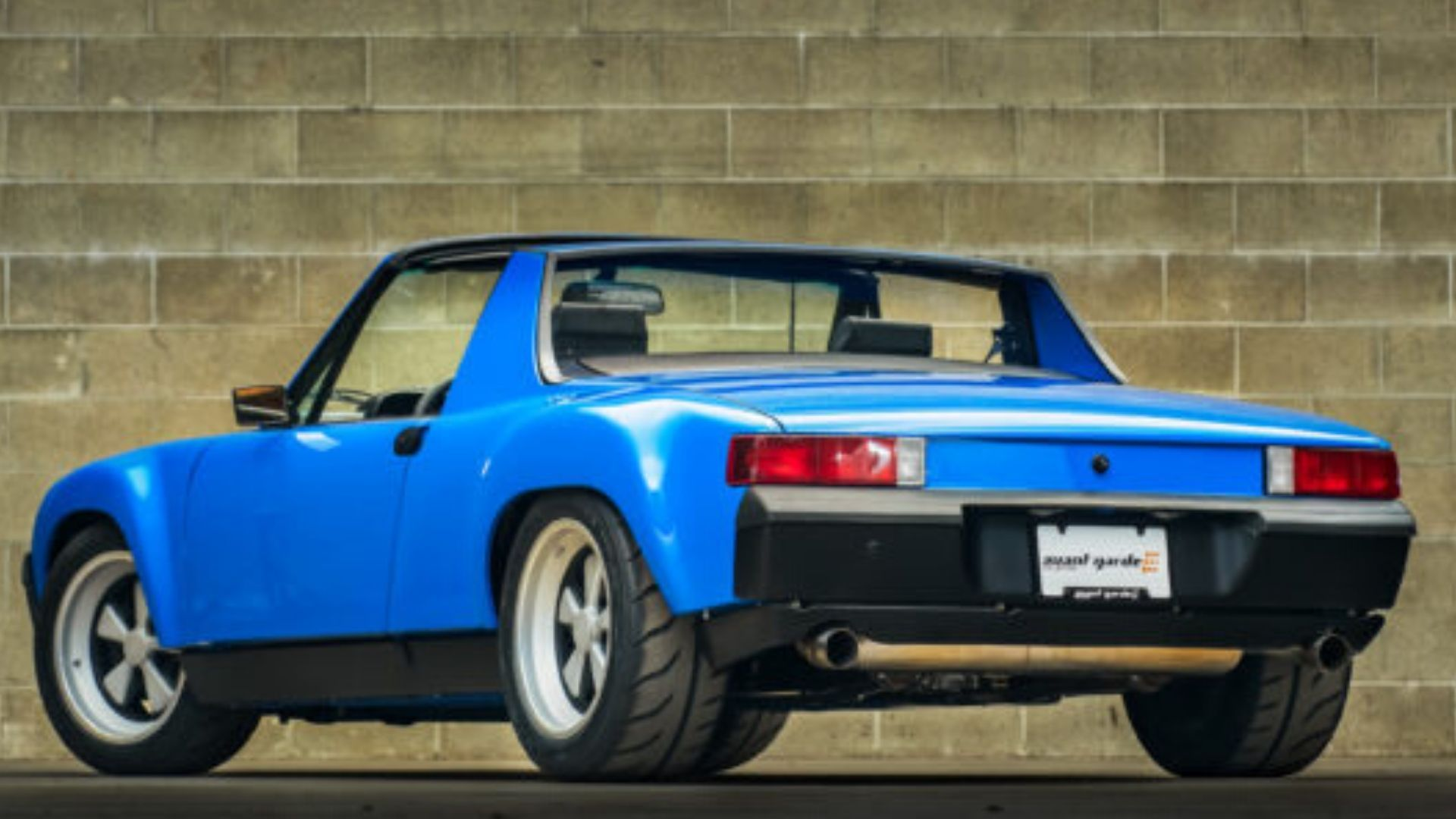 Get Your Kicks In This 3.6-Liter 1972 Porsche 914 Track Missile