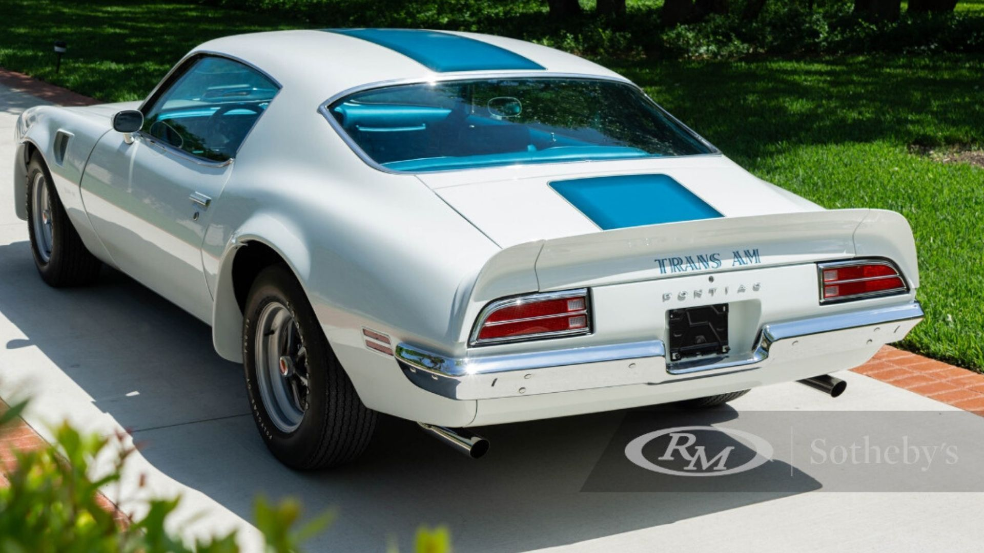Numbers-Matching 1970 Pontiac Trans Am Heads To Auction Block