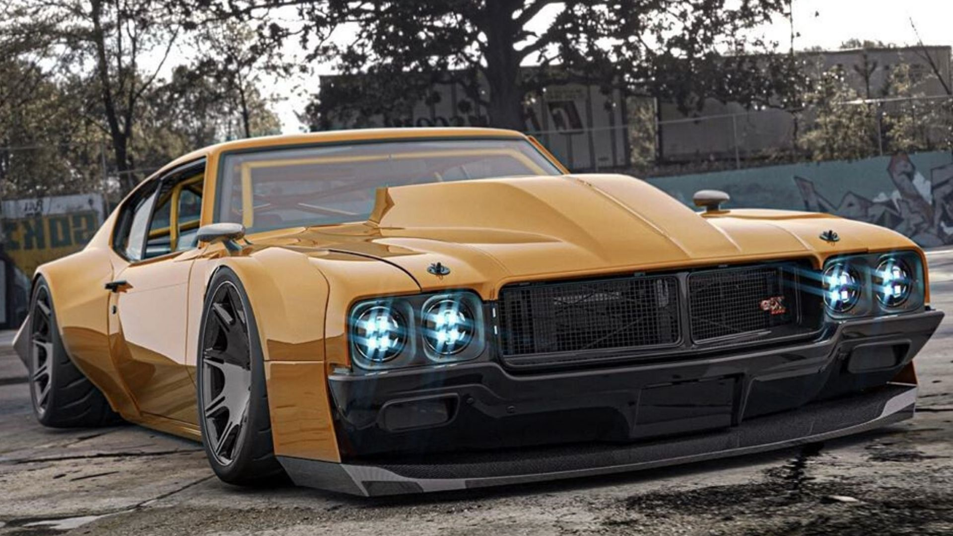 What Do You Think Of This Widebody 1970 Buick GSX?