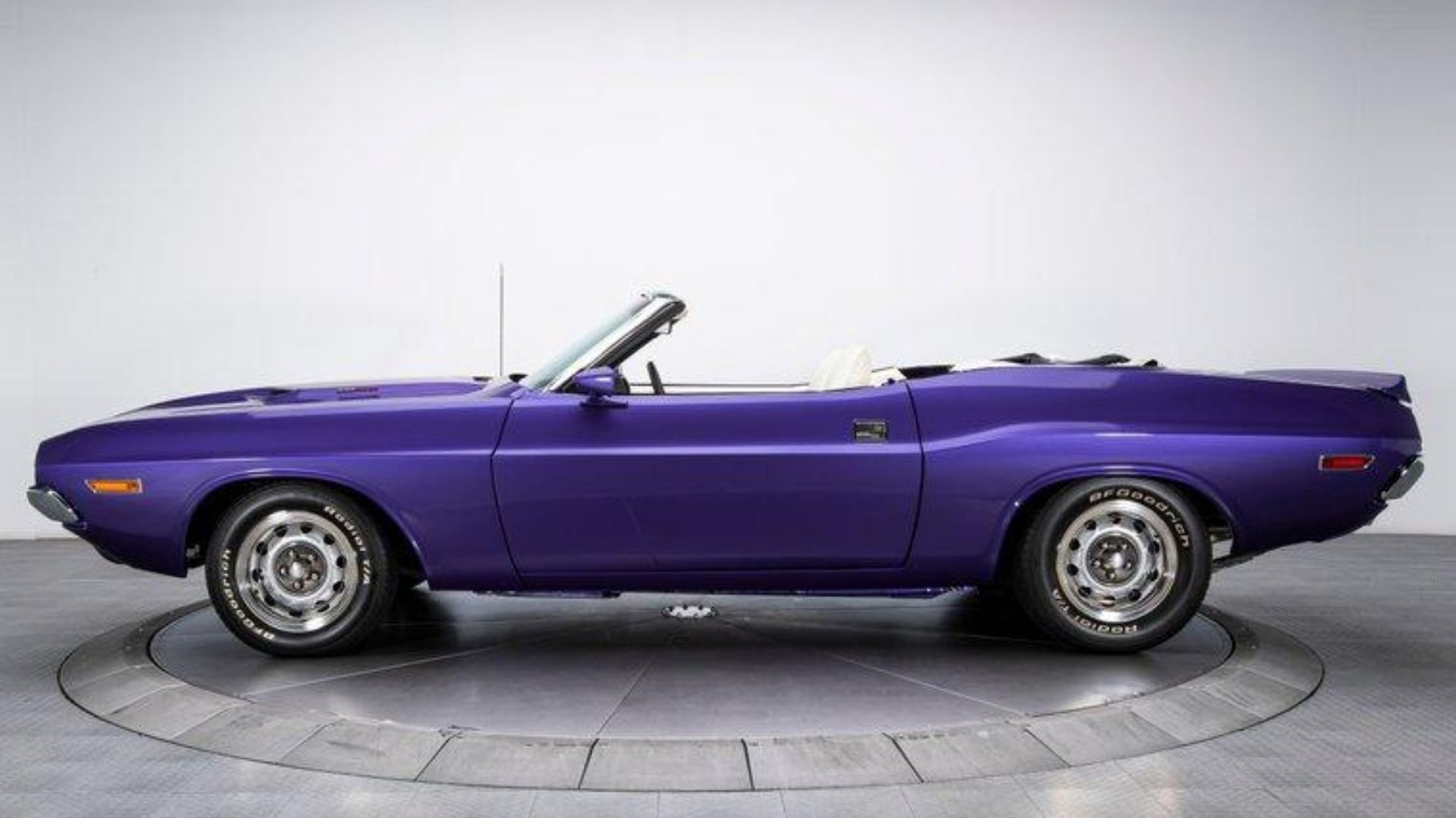 1970 Dodge Challenger Convertible Uses 440 To Drive You Plum Crazy
