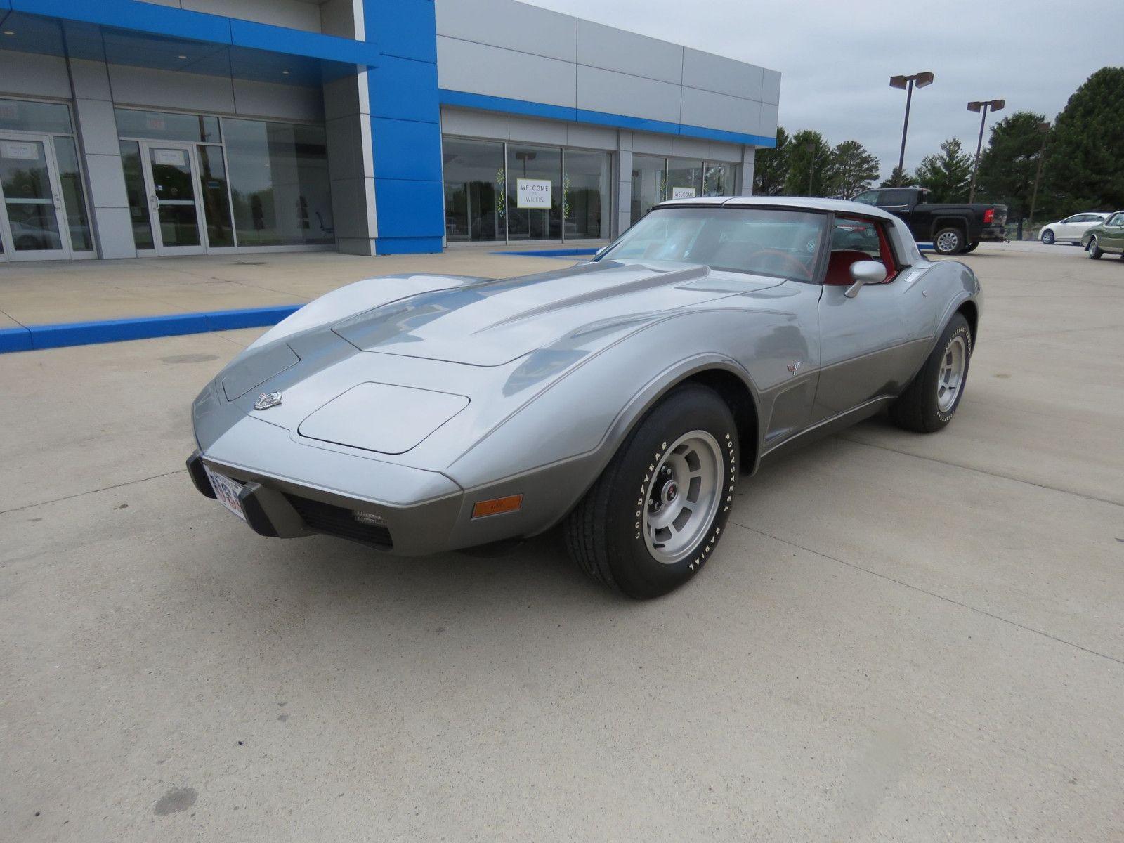 "<img src=""don-1978-corvette.jpg"" alt=""A 1978 Chevrolet Corvette Coupe 25th Anniversary time capsule"">"