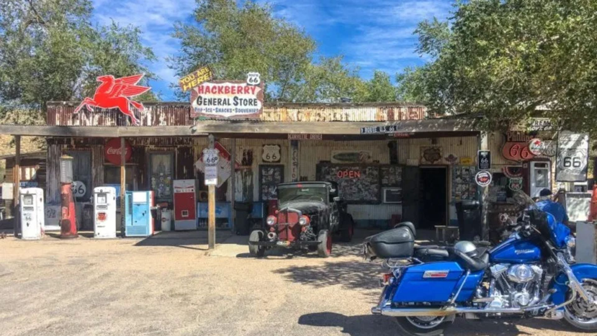 Visit These Iconic Route 66 Gas Stations